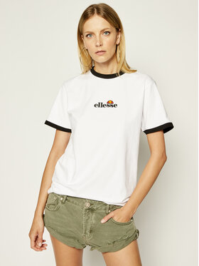 Ellesse Ellesse T-Shirt Serafina Tee SGE08417 Biały Regular Fit