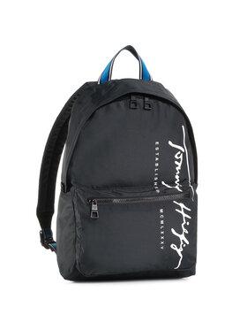 Tommy Hilfiger Tommy Hilfiger Kuprinė Th Signature Backpack AM0AM06394 Juoda