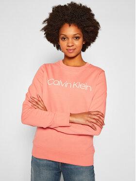 Calvin Klein Calvin Klein Pulóver Core Logo K20K202157 Rózsaszín Regular Fit