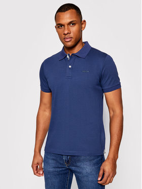 Geox Geox Tricou polo Sustainable M1210C T2649 F4070 Bleumarin Regular Fit