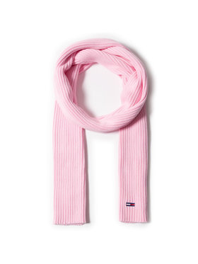 Tommy Jeans Tommy Jeans Schal Tjw Basic Flag Rib Scarf AW0AW09008 Rosa