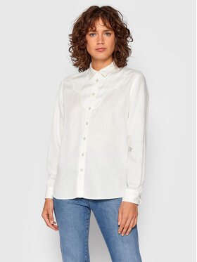Lee Lee Chemise Western L45DBPRR Blanc Relaxed Fit