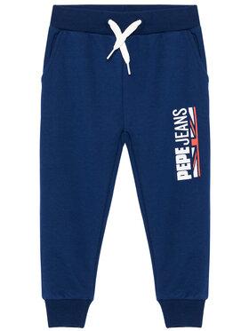 Pepe Jeans Pepe Jeans Teplákové kalhoty Jonah PB210579 Tmavomodrá Regular Fit