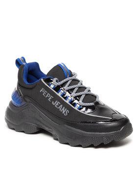 Pepe Jeans Pepe Jeans Sneakersy Eccles Nine PLS31226 Černá