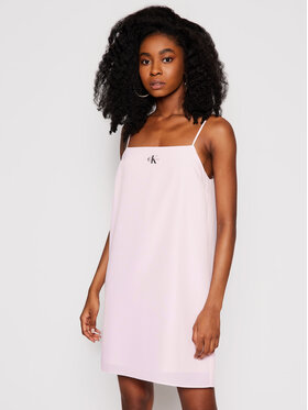 Calvin Klein Jeans Calvin Klein Jeans Лятна рокля J20J215669 Розов Regular Fit