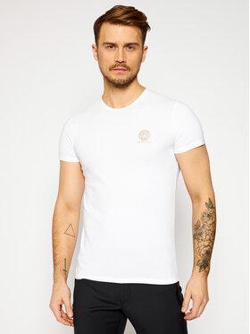 Versace Versace T-Shirt Medusa AUU01005 Λευκό Regular Fit