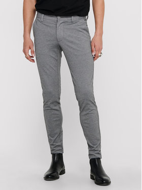 Only & Sons ONLY & SONS Pantaloni din material Mark 22010209 Gri Slim Fit