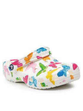 Crocs Crocs Mules / sandales de bain Classic Vacay Vibes 206375 Blanc