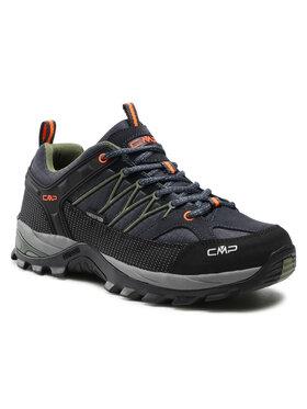 CMP CMP Παπούτσια πεζοπορίας Rigel Low Trekking Shoe Wp 3Q54457 Μαύρο
