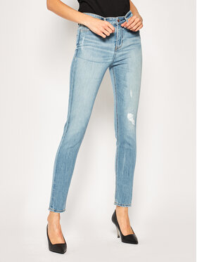 Guess Guess jeansy Skinny Fit 1981 W01A46 D3Y42 Blu Skinny Fit