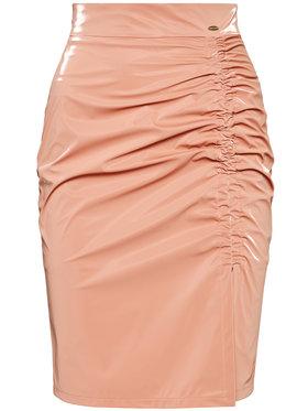 Rage Age Rage Age Pouzdrová sukně Cassandra 1 Růžová Slim Fit