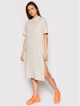 Reebok Reebok Každodenné šaty Classics Wardroble Essential GN9644 Sivá Regular Fit