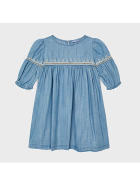 Mayoral Mayoral Φόρεμα καθημερινό 3942 Μπλε Regular Fit