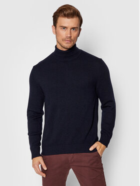 United Colors Of Benetton United Colors Of Benetton Golfas 1235U2522 Tamsiai mėlyna Regular Fit