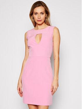 Guess Guess Kokteilinė suknelė W1GK0S WB4H2 Rožinė Slim Fit