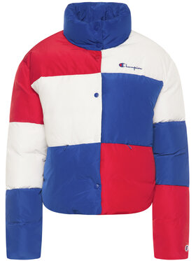 Champion Champion Doudoune Colour Block Cropped Puffer 112347 Multicolore Regular Fit