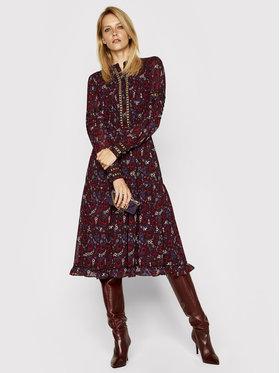 MICHAEL Michael Kors MICHAEL Michael Kors Ежедневна рокля Paisley Georgette and Lace Ruffled MF0800UFFS Цветен Regular Fit