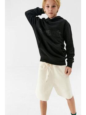 Sprandi Sprandi Sweatshirt SS21-BLK002 Schwarz Regular Fit