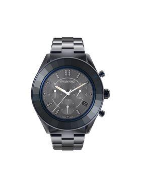 Swarovski Swarovski Ρολόι Octea Lux Sport 5610475 Σκούρο μπλε