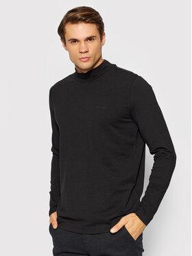 Pierre Cardin Pierre Cardin Тениска с дълъг ръкав 53272/000/12328 Черен Regular Fit