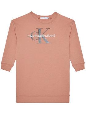 Calvin Klein Jeans Calvin Klein Jeans Hétköznapi ruha Monogram Shine IG0IG00712 Rózsaszín Regular Fit