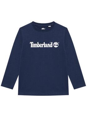 Timberland Timberland Μπλουζάκι T25S26 D Σκούρο μπλε Regular Fit
