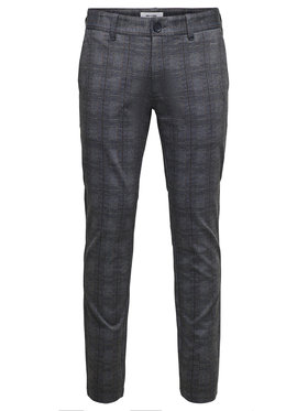 Only & Sons Only & Sons Pantaloni chino Mark 22018649 Gri Regular Fit