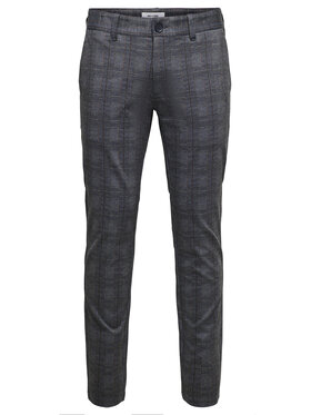 Only & Sons Only & Sons Pantaloni chino Mark 22018649 Grigio Regular Fit