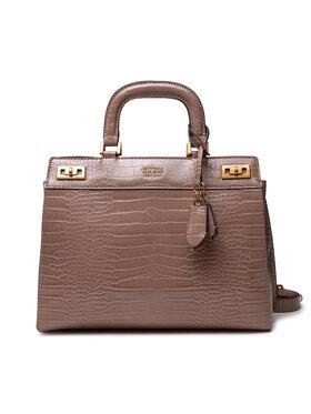 Guess Guess Дамска чанта Katey (CB) HWCB78 70070 Кафяв