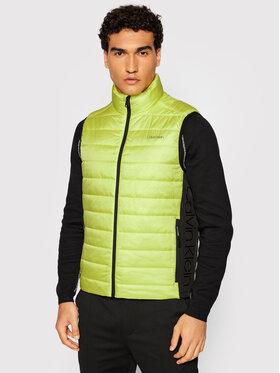 Calvin Klein Calvin Klein Елек Essential Side Logo K10K107337 Жълт Regular Fit