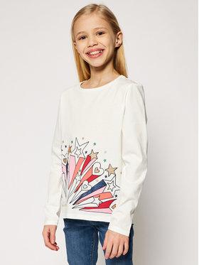Billieblush Billieblush Блуза U15810 Бял Regular Fit