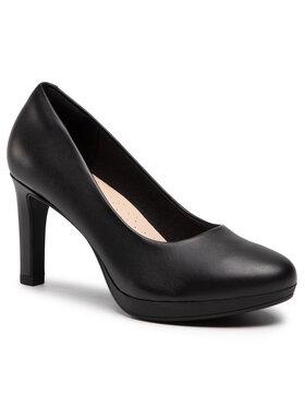 Clarks Clarks Pantofi Ambyr Joy 261577644 Negru