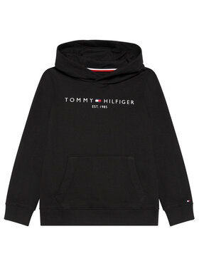Tommy Hilfiger Tommy Hilfiger Bluza Essential Hoody KS0KS00213 Czarny Regular Fit