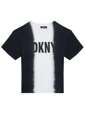 DKNY DKNY T-shirt D35R31 D Nero Regular Fit