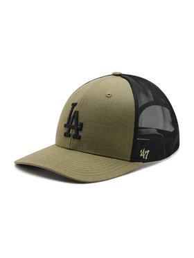 47 Brand 47 Brand Șapcă Los Angeles Dogers Grid Lock B-GRDMD12RCP-XC Verde