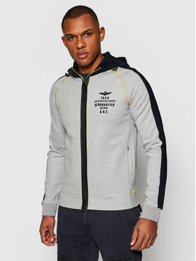 Aeronautica Militare Aeronautica Militare Sweatshirt 211FE1570F421 Grau Regular Fit