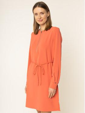 Calvin Klein Calvin Klein Každodenní šaty Travel Crepe K20K201542 Oranžová Regular Fit