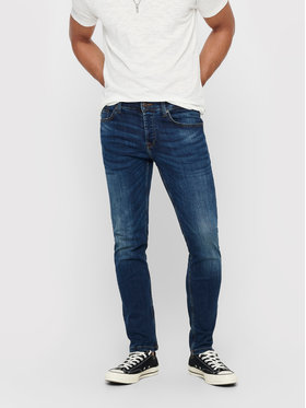 Only & Sons ONLY & SONS Jeansy Weft 22005076 Tmavomodrá Regular Fit