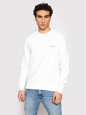 Calvin Klein Calvin Klein Džemperis Small Chest Logo K10K107031 Balta Regular Fit