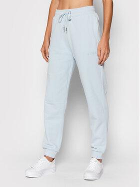 Guess Guess Spodnie dresowe O1GA04 K68M1 Niebieski Regular Fit