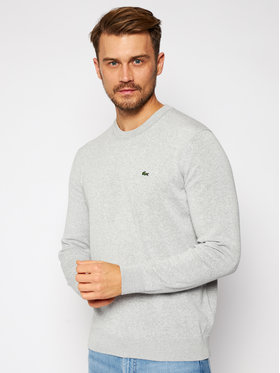 Lacoste Lacoste Sweter AH2193 Szary Classic Fit