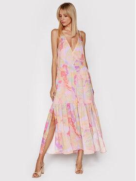 IRO IRO Letné šaty Mauge A0553 Ružová Loose Fit