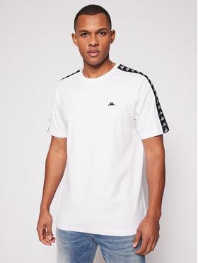 Kappa Kappa T-Shirt Hanno 308011 Weiß Regular Fit