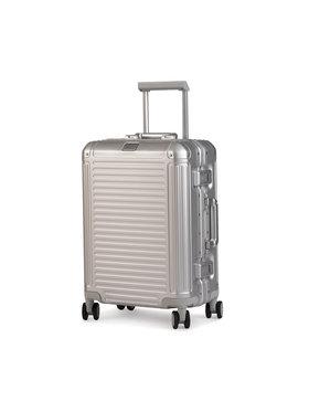 Travelite Travelite Malý tvrdý kufr Next 79947-56 Stříbrná