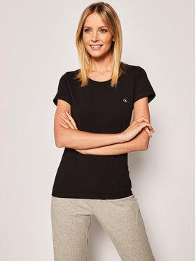 Calvin Klein Underwear Calvin Klein Underwear Σετ 2 T-Shirts Lounge 000QS6442E Μαύρο Regular Fit