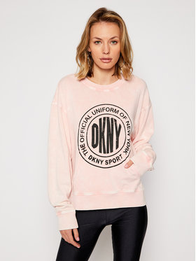 DKNY Sport DKNY Sport Sweatshirt DP0T7385 Rose Regular Fit