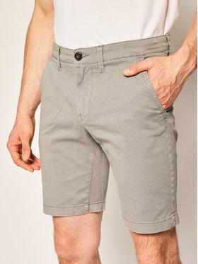 Pepe Jeans Pepe Jeans Šortky z materiálu Charly Minimal PM800773 Šedá Slim Fit