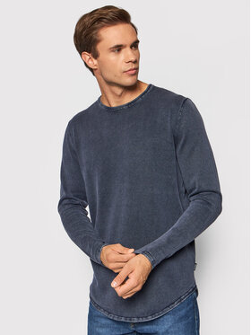 Only & Sons Only & Sons Manches longues Garson 22021094 Bleu marine Regular Fit