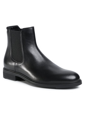 Boss Boss Členková obuv s elastickým prvkom Firstclass 50422765 10223712 01 Čierna