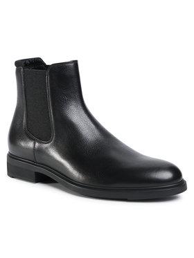 Boss Boss Kotníková obuv s elastickým prvkem Firstclass 50422765 10223712 01 Černá